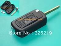 for landrover  flip remote key blank 3 button