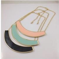 free shipping new fashion women Exclusive design retro punk drip collar necklace  12pcs/lot