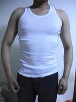 Vest  Men's 2013 male vest male 100% cotton men's clothing basic male undershirt sports fitness tight good quality manufacture