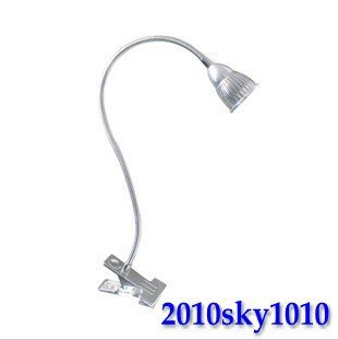 Power 4W Warm white Color 50% discount! 1pcs/Lot LED desk lamp Aluminum LED table lamp reading Lamp Porch spot light(China (Mainland))