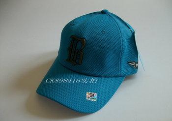 Canoe sun-shading gauze breathable sports casual baseball cap b letter metal logo of the
