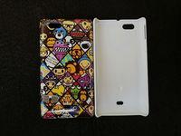 Cartoon Dinosaur & Monkey & Lion & Bear Case Cover For Sony Xperia Miro ST23i, Freeshipping, Retail