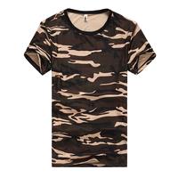 13 Camouflage male t-shirt slim round neck short-sleeve t-shirt T-shirt tooling military Camouflage short-sleeve t shirt