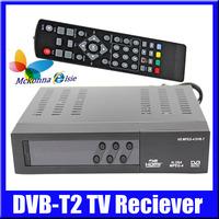 Free 1080P Digital Set Top Box DVB-T DVB-T2 HDMI Usb TV Reciever,Tuner MPEG4 H.264 Support RUSSIA &THAILAND+OSD Subtilte