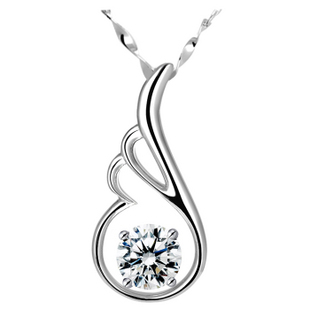 Birthday gift 925 pure silver necklace female short design fashion girls necklace
