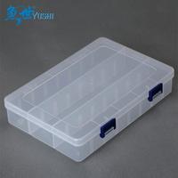 Fish horizontal stripe transparent box waterproof  accessories box fishing hook,lure box  fishing tackle box
