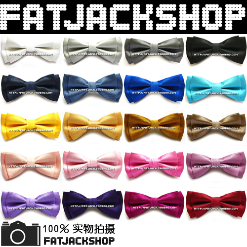 Multicolor fashion net colored double layer wedding banquet bowtie bow tie bow tie(China (Mainland))