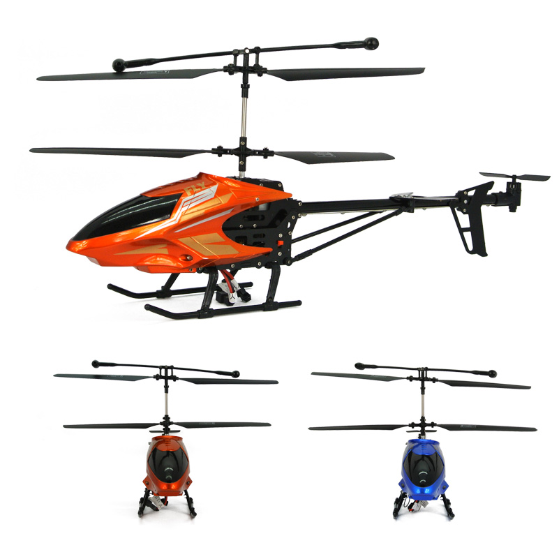 Ultralarge alloy charge remote control spinning top instrument helicopter hm toy(China (Mainland))
