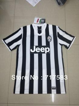 Juventus fans Version jersey 2013-2014 best Thai quality Juventus home soccer jersey mix order free shipping
