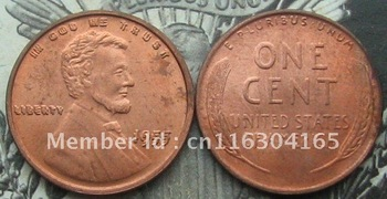 1955 Double Die Obverse Lincoln Wheat Cent Penny