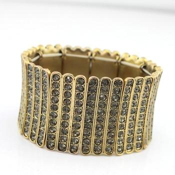 Fashion accessories full bling rhinestone bracelet luxury bracelet 360 gem dw
