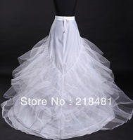 cq-05 2013 new arrival good quality layers bridal petticoat underskirt for wedding