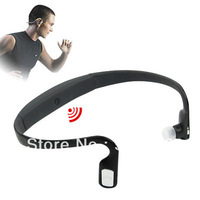 Black Running Sport Bluetooth Wireless Headset Earphone For iPhone 5G 4G 4S
