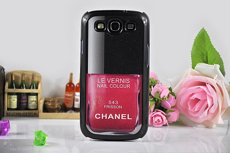 Free ship Le vernis case for Samsung Galaxy NOTE 2 n7100 Luxury Nail enamel case for Galaxy S4,free shipping(China (Mainland))
