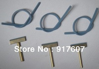 Soldering iron head (T-tip) with rubber, Replace tool for flat ribbon pixel cable LCD repair tool