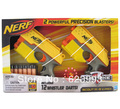 Original Hasbro Nerf N-Strike Ix-3 2-pack with 12 Whistler Dart  Blaster  Toy Gun  Free Shipping(China (Mainland))