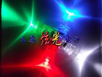 Flash led finger lights laser light neon stick ring light led finger light