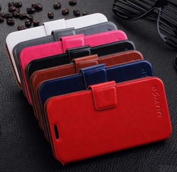 100% New Professional Production Fashion Thin Leather case Decoration Protect Case For Samsung S4 i9500 (6 color)