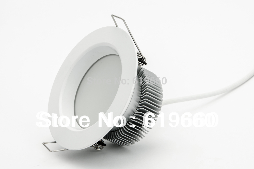 8W 570lm Dimmable Recessed LED Downlight and LED Downlight Fitting with CRI over 80Ra, 3 years warranty. Free shipping.(China (Mainland))