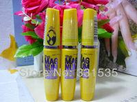 5PCS/LOT Cheap Brand makeup High quality same Original the magnum volum express waterproof Mascara black free shipping