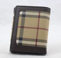 Korean men short paragraph wallet fold buckle personalized student short wallet