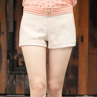 2013 summer iron elastic high quality female shorts gentlewomen elegant female shorts