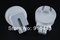 100pcs/lot AC Power Adapter AU Detachable Plug Head For MACBOOK IPAD 1 IPAD 2 3  iphone AC Adaptor