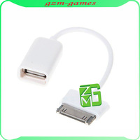10pcs/lot USB Female Port OTG Cable Adapter For Samsung Tablet 10.1/8.9 P7510 Free shipping