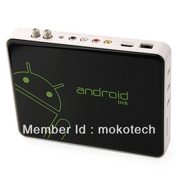 Free android apps AML8726-M3 dvb-s2 satellite receiver android 4.0 mini smart tv box built in wifi support 3G 3D full HD(China (Mainland))
