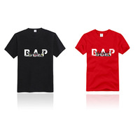 NEW Unisex K-POP BAP official 100% cotton T-shirt  S/M/L/XL size