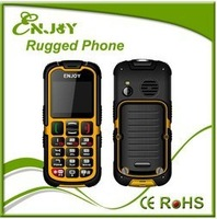IP67 Waterproof Dual band Dual SIM Full color Screen Rugged Mobile phone