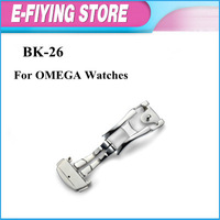 New 316L Steel  Deployment buckle 16mm leather watch band clasp  for OMEGA  HK post Free shipping