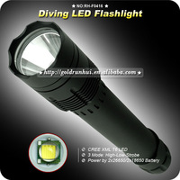 1PC CREE XM-L XML T6 LED 1000 Lumen 18650 3 Mode Waterproof Diving Dive Flashlight Torch Lamp Light