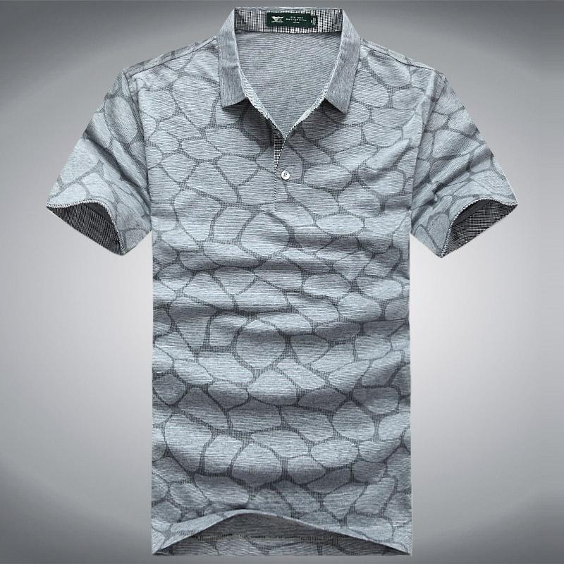 2013 summer fashion men's clothing casual turn-down collar short-sleeve T-shirt men's thin short-sleeve t shirt(China (Mainland))