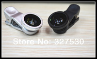 fisheye wide-angle macro lens for apple ipad iphone4/4S/5 for Samsung GALAXY SIII note2  for anyone phone 50pcs+freeing DHL ship