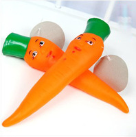 Wholesale 2014 New Pets Products Supplies Squeaky Carrot Toys For Smalll Dogs Free Shipping,20PCS