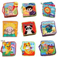 infant cloth books owl little girl