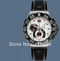 Brand new TAG mens luxury quartz F1 watches black rubber fashion watch