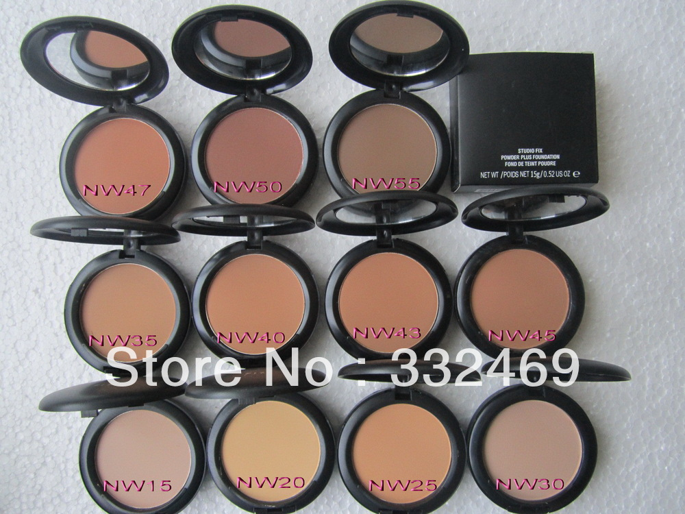2pcs/lot New studio fix powder plus foundation,face Powder! Free shipping!!! NW STYLE,NCSTYLE(China (Mainland))
