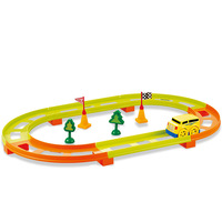 Sallei electric blocks rail car track toy child set puzzle assembling toys small train