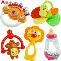 Baby rattle 10 set combination newborn toy box