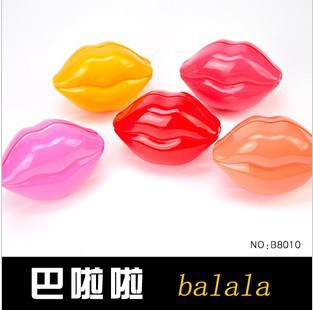 Beautiful Purple/Orange/Nude Many Color Lipstick Wonder Woman Lipstick Balala Brand Makeup 2013 Lip Sticks Free Shipping(China (Mainland))