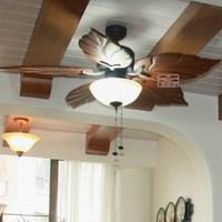 2013 new arrival Deluxe ceiling fan light fan lamp fz1307e fashion antique wood leaf blade pendant light fan  free shipping