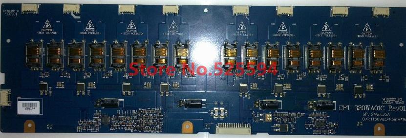 DHL UPS EMS Fedex Free shipping 32TA1600 backlight CPT 320WA01C Rev01 VIT68001.70(China (Mainland))