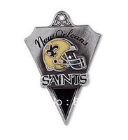 Free shipping 10pcs a lot sport enamel New Orleans Saints football team logo charms