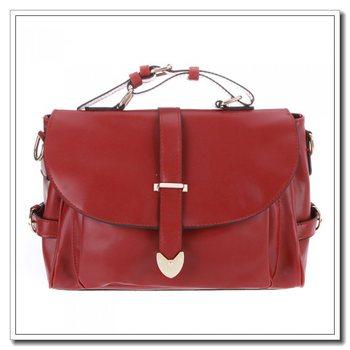 High quality Fashion Retro Women's Messenger Bag Totes Satchel Shoulder Bag Handbag Baguette For Lady Burgundy Dropshipping