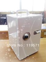 New style Summer  18L AC220-240V/60HZ  DC 12V portable car fridge.car cooer .mini freezer
