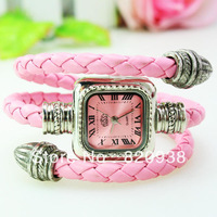 2013 watches luxury vquartz bracelet personalized leather cord new watch Ladies watch factory direct 153 755