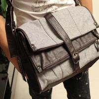 Casual man bag male messenger bag shoulder bag messenger bag male fashionable casual canvas cross-body