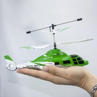 2.4G 4CH Coaxial Remote Control RC Micro Helicopter with 5in1 Gyro Controller New Free Shipping